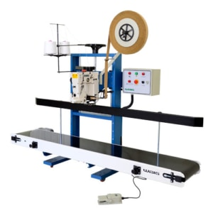 Cabeçote de costura blindado com corte automático para costurar sacos