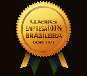 WAIG - Empresa 100% brasileira desde 1971