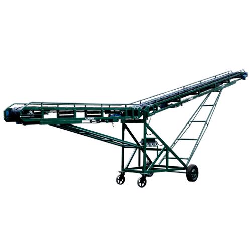 Esteira elétrica articulada para transportes de produtos a granel e embalados