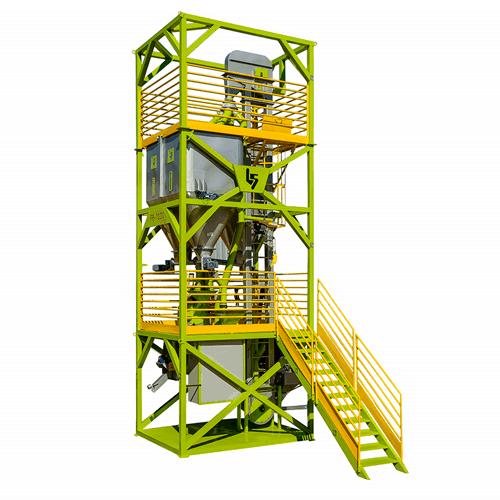 Fábrica de ração prática e automatizada para a realidade do produtor