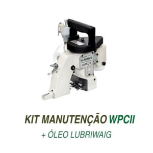 Kit de manutenção para Costuradora Portátil WPC II com óleo e suprimentos originais WAIG