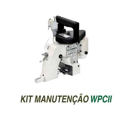Kit de manutenção para Costuradora Portátil WPC II com suprimentos originais WAIG.