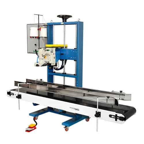 Sistema de Costura Industrial CW35 para costurar sacarias
